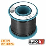 CABO UNIFILAR 0.5mm PRETO (ROLO 25m)