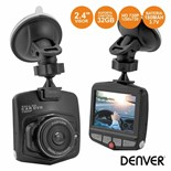 "CAMERA VIGILANCIA HD P/ AUTOMOVEL 2.4"" 12V DENVER"