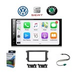 KIT SISTEMA ESPECIFICO ANDROID/CARPLAY VAG (VW, SEAT, SKODA)